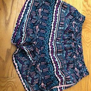 Printed Shorts kids size 12